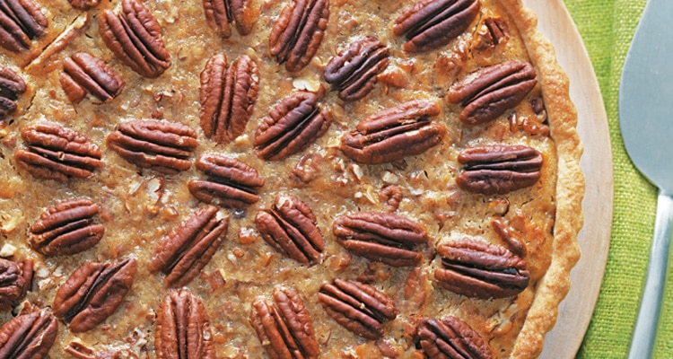 Maple Pecan Pie with Dairy-Free Sweet Pastry