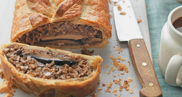 Mushroom, Pecan and Chestnut Wellington