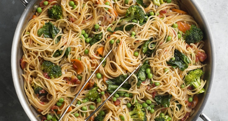 One-Pan Pasta Primavera