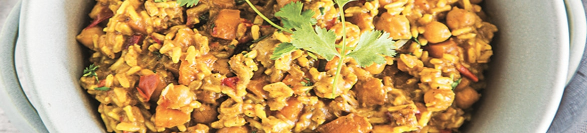One Pot Curry Risotto