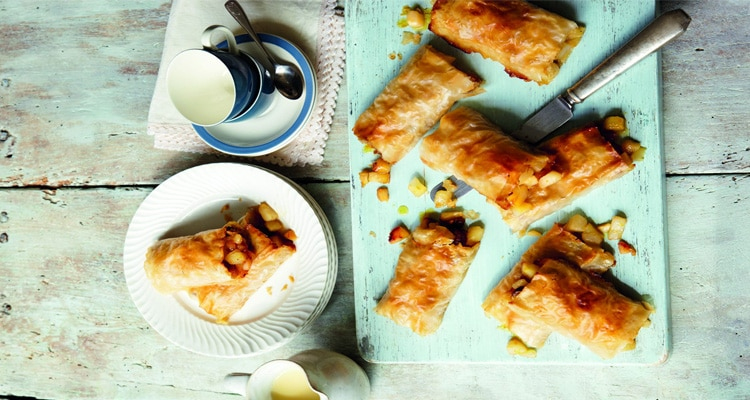 Aromatic Pear Strudel