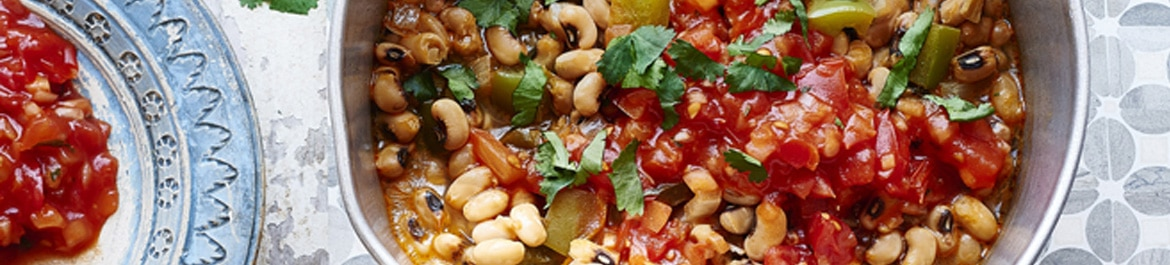 Plant Based Black-Eyed Pea Chilli