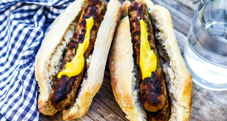 Plant Based Grilled Bratwurst