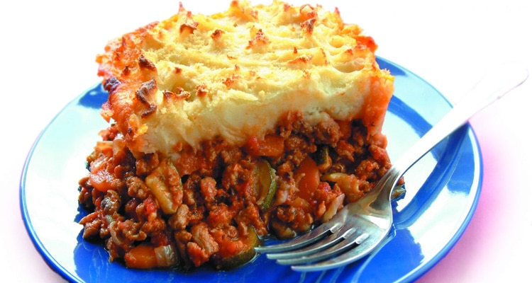 Warm and Flavoursome Sheperdess Pie