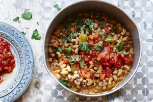 black eyed pea chilli