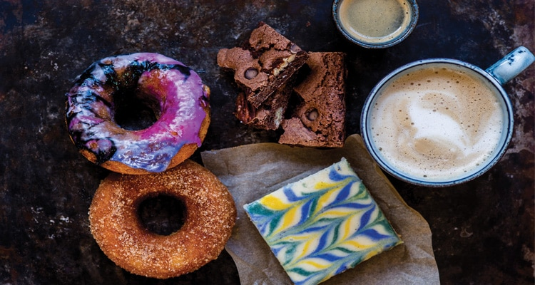 Vegan Doughnuts and Brownies