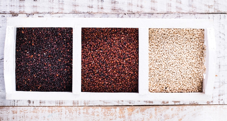 different types of quinoa
