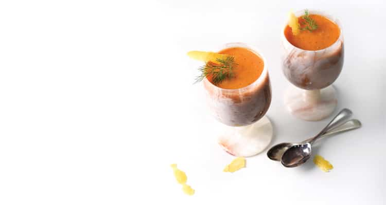 Tomato And Fennel Gazpacho