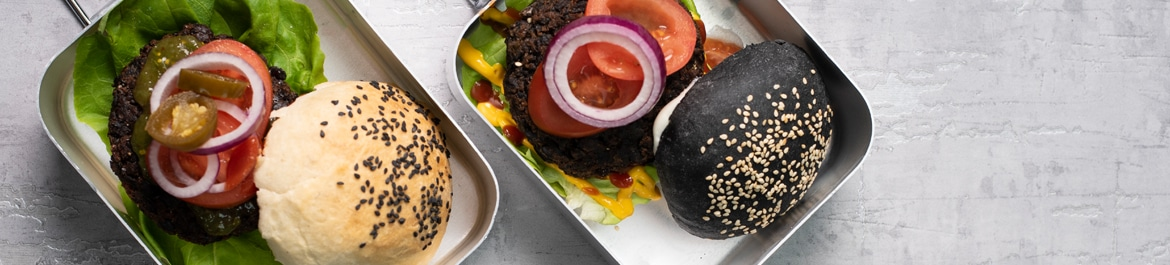 Cajun Mushroom & Black Bean Burgers | Recipes | PlantBased Magazine