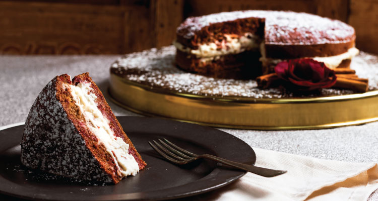 Wholemeal Beetroot Cake