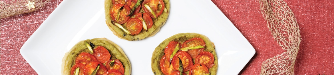 Olive and Rosemary Pastry Tarts