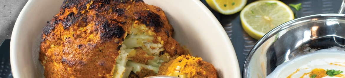 Tandoori Roasted Cauliflower