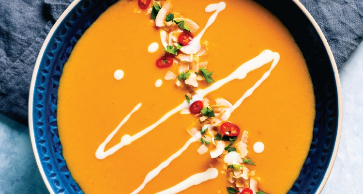 Sweet Potato, Chilli and Coconut Soup