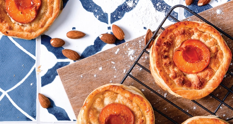 Apricot and Frangipane Puff Pastry Tart