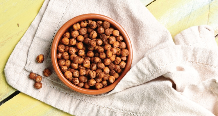Jerk Roasted Chickpeas