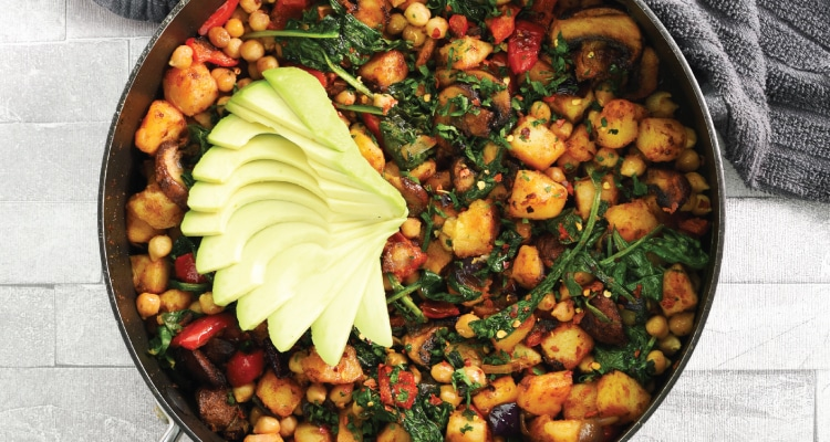 Chickpea and Potato Hash
