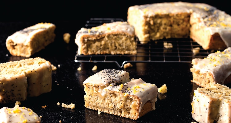 Lemon and Poppy Seed Traybake