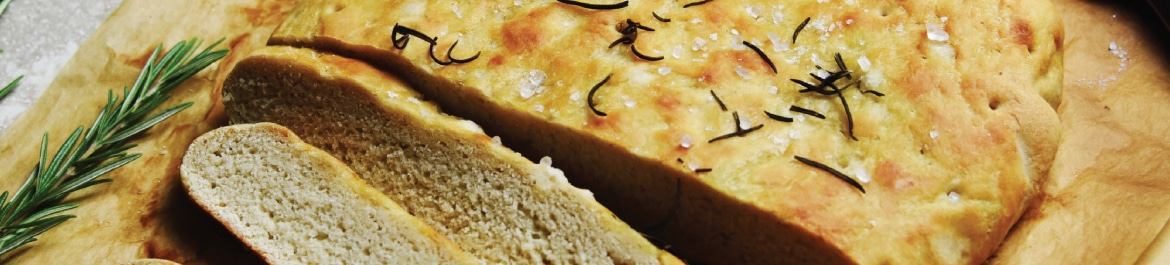 Slow Cooker Rosemary Focaccia