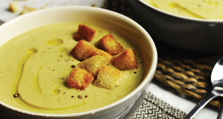Broccoli and 'Blue Cheese' Soup