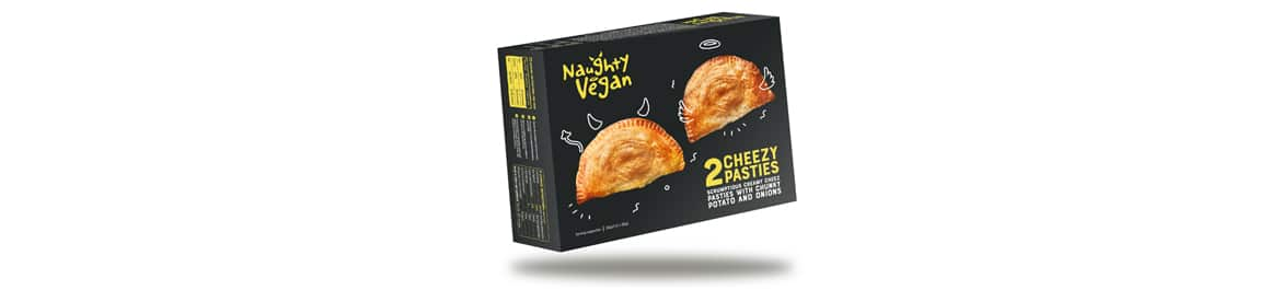 Naughty Vegan Cheezy Pasties